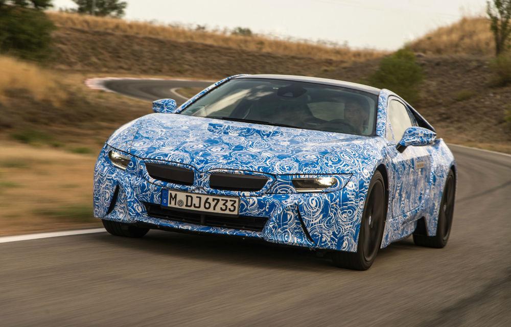 BMW i8, primele imagini: supercarul hibrid al nemţilor anunţă un consum mediu de 2.5 litri la sută - Poza 1