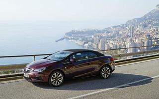 Opel Cascada primeşte un motor de 200 de cai putere la Frankfurt