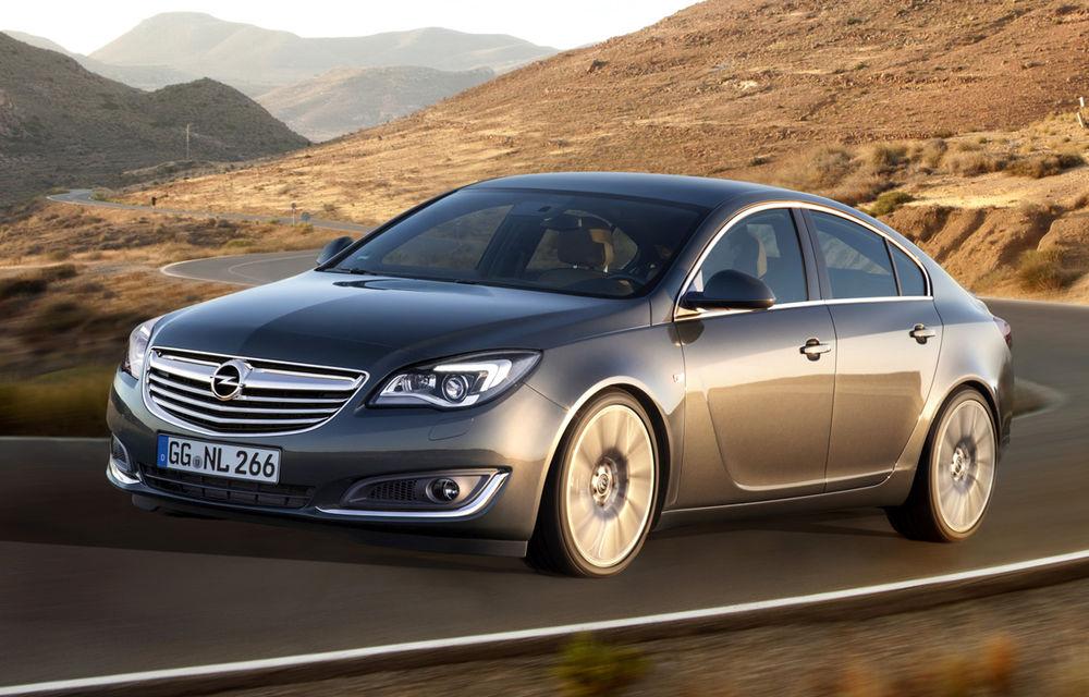 Opel Insignia devine cel mai aerodinamic model din segmentul său, cu un coeficient aerodinamic de doar 0.25 - Poza 1