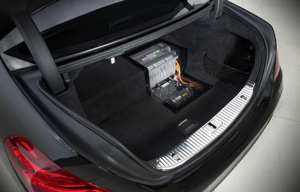 Mercedes-Benz S500 Plug-in Hybrid: consum mediu de 3.0 litri la sută - Poza 6