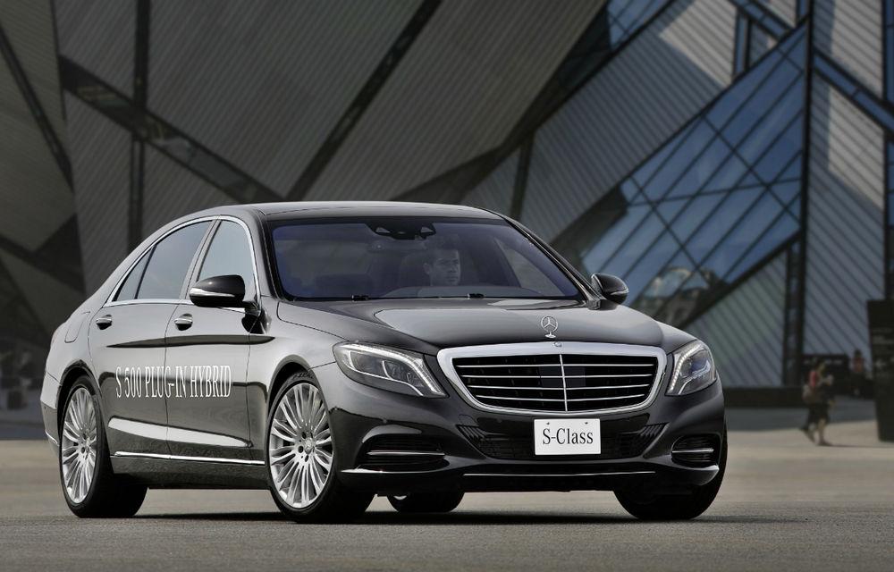 Mercedes-Benz S500 Plug-in Hybrid: consum mediu de 3.0 litri la sută - Poza 1