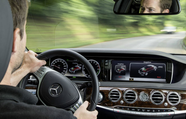 Mercedes-Benz S500 Plug-in Hybrid: consum mediu de 3.0 litri la sută - Poza 3