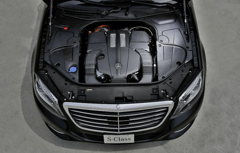 Mercedes-Benz S500 Plug-in Hybrid: consum mediu de 3.0 litri la sută - Poza 5