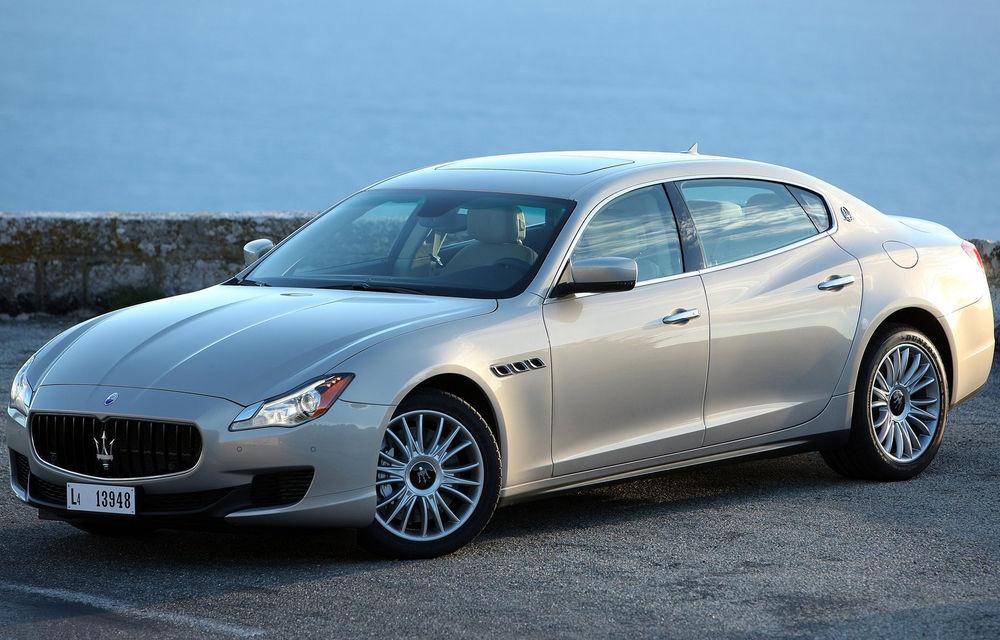 Vânzările Maserati s-au triplat faţă de 2012, mulţumită noilor Quattroporte şi Ghibli - Poza 1