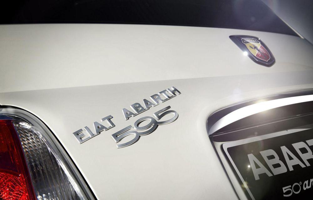 Abarth 595 Anniversary Edition sărbătoreşte la Frankfurt 50 de ani de la debutul vechiului 595 - Poza 8