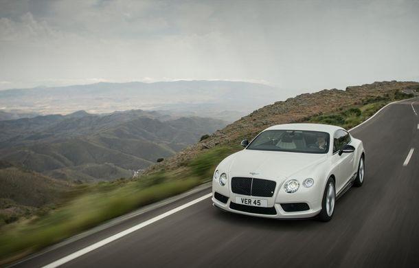 Bentley Continental GT V8 S, o versiune mai puternică a modelului britanic - Poza 2