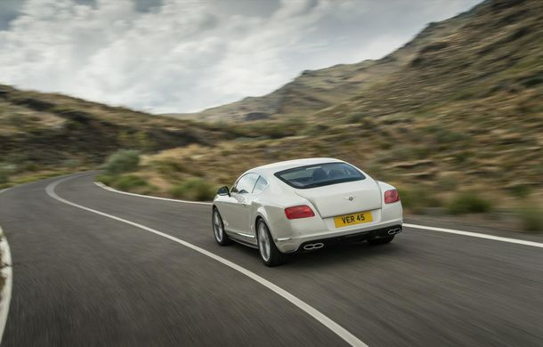 Bentley Continental GT V8 S, o versiune mai puternică a modelului britanic - Poza 3