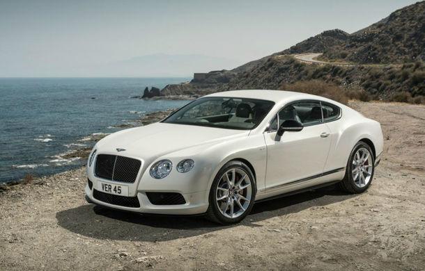 Bentley Continental GT V8 S, o versiune mai puternică a modelului britanic - Poza 1