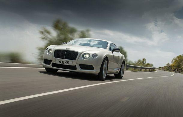 Bentley Continental GT V8 S, o versiune mai puternică a modelului britanic - Poza 5