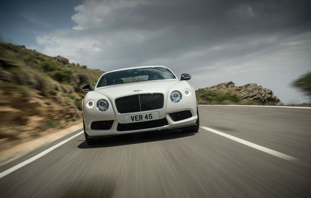 Bentley Continental GT V8 S, o versiune mai puternică a modelului britanic - Poza 8