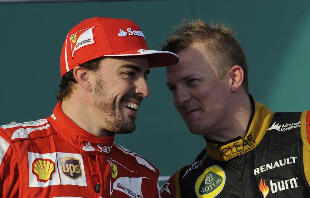Presa anticipează o rocadă spectaculoasă: Raikkonen la Ferrari, Alonso la Lotus! - Poza 1
