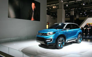 FRANKFURT 2013 LIVE: Suzuki iV-4 atrage atenţia de la noul S-Cross