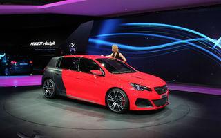 FRANKFURT 2013 LIVE: Peugeot 308 R este vedeta standului constructorului francez