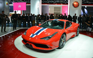 FRANKFURT 2013 LIVE: 458 Italia Speciale a strălucit la standul Ferrari