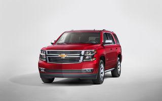 Chevrolet a lansat o nouă generație a SUV-urilor Tahoe și Suburban