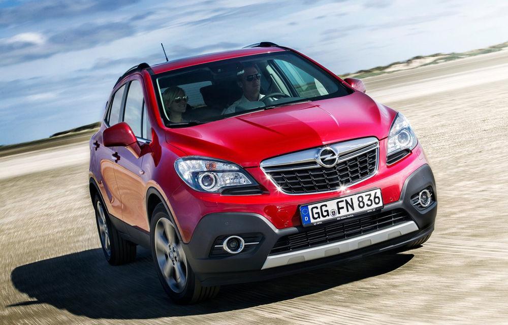 Opel se aşteaptă ca Mokka să devină liderul de vânzări al segmentului - Poza 1