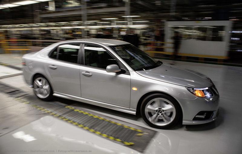 Primul Saab din noua eră a companiei a fost produs la uzina suedeză din Trollhattan - Poza 2