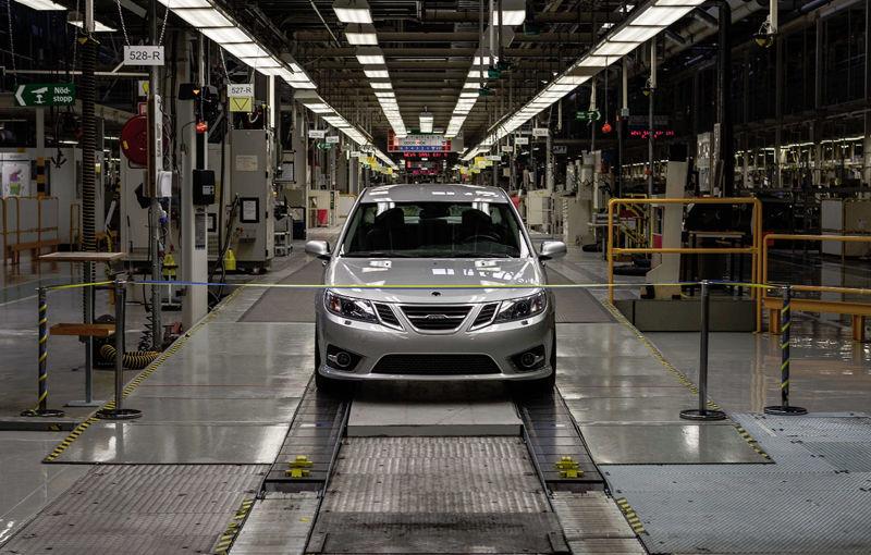 Primul Saab din noua eră a companiei a fost produs la uzina suedeză din Trollhattan - Poza 1
