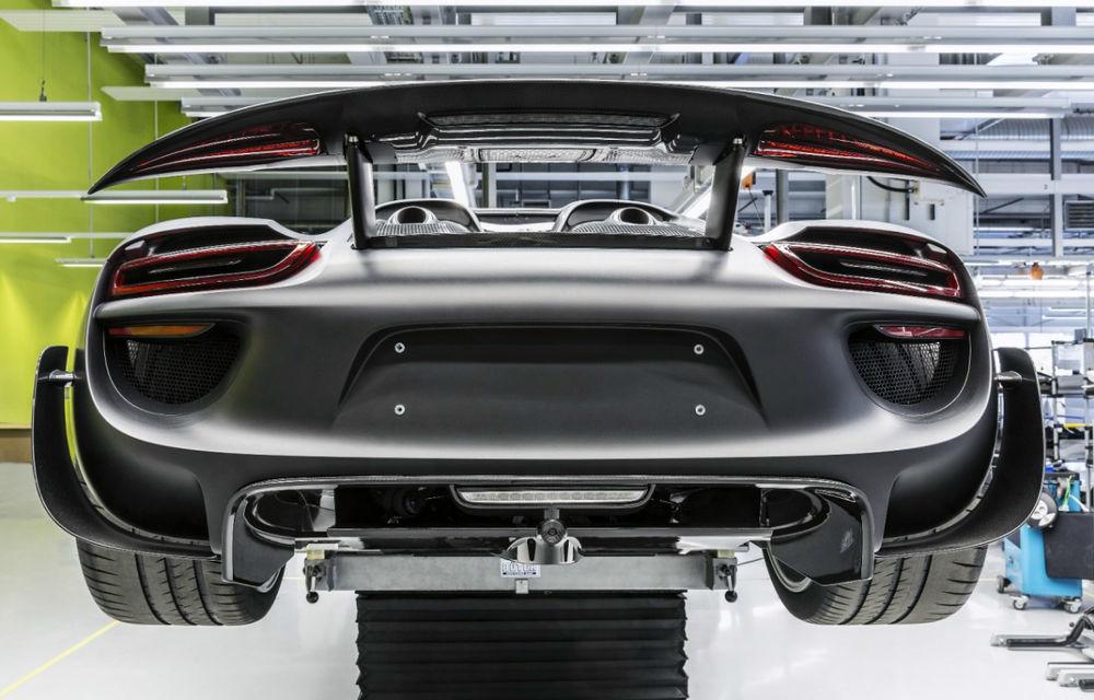 Porsche 918 Spyder a intrat în producţie - Poza 1