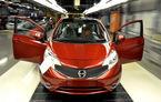 Nissan Note a intrat oficial în producţie la uzina din Sunderland, Marea Britanie