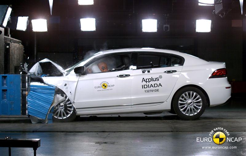 Surpriză la EuroNCAP: modelul chinezesc Qoros 3 Sedan primeşte cinci stele şi devine cea mai sigură maşină testată în 2013 - Poza 2