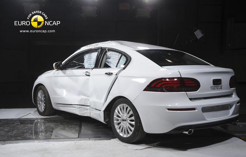 Surpriză la EuroNCAP: modelul chinezesc Qoros 3 Sedan primeşte cinci stele şi devine cea mai sigură maşină testată în 2013 - Poza 4
