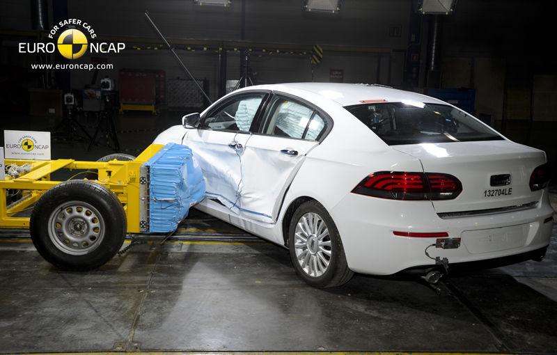 Surpriză la EuroNCAP: modelul chinezesc Qoros 3 Sedan primeşte cinci stele şi devine cea mai sigură maşină testată în 2013 - Poza 3