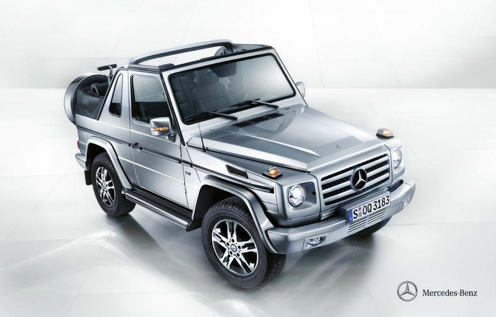 Mercedes-Benz G-Klasse Cabriolet iese din producţie - Poza 1