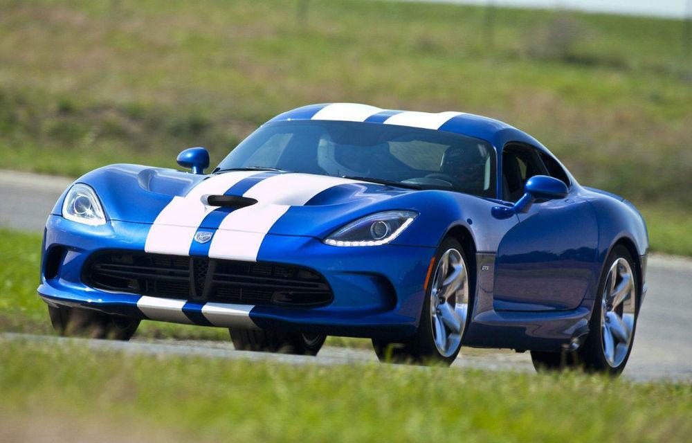 Dodge SRT Viper nu se bucură de succes. Chrysler reduce producţia - Poza 1