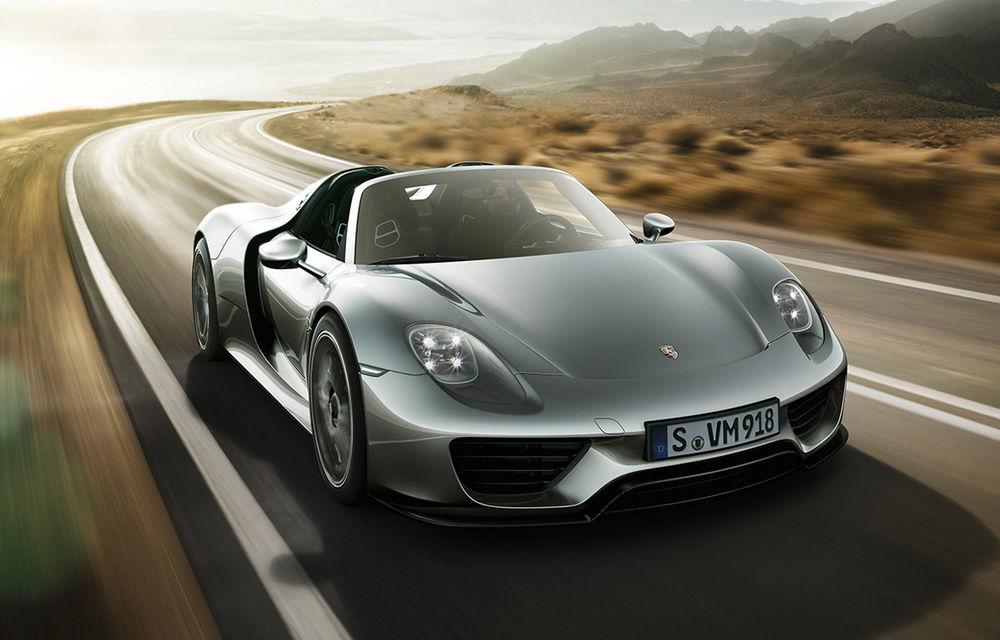 770.000 de euro pentru Porsche 918 Spyder? Nicio problemă: 10 clienţi din Europa Centrală şi de Est au comandat deja maşina - Poza 1