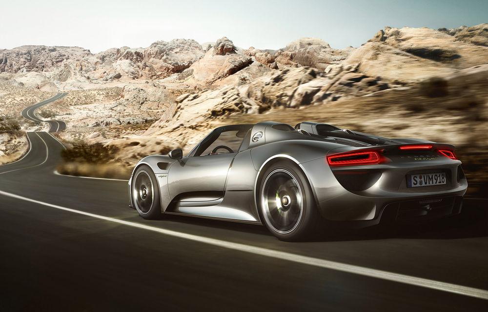 770.000 de euro pentru Porsche 918 Spyder? Nicio problemă: 10 clienţi din Europa Centrală şi de Est au comandat deja maşina - Poza 3