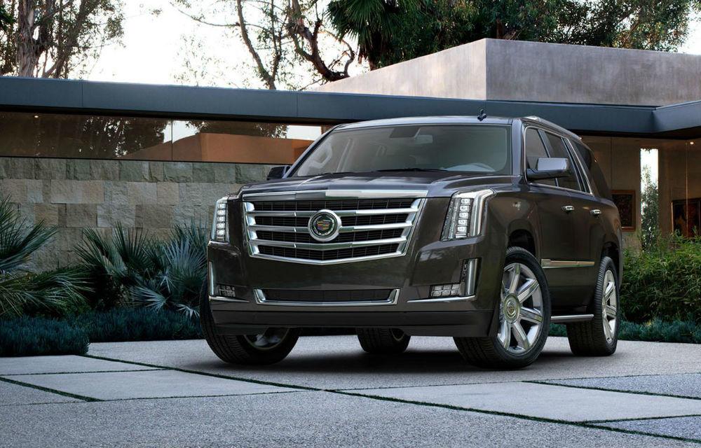 Cadillac Escalade a ajuns la a patra generaţie - Poza 1