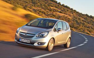 Opel Meriva facelift - imagini şi informaţii oficiale