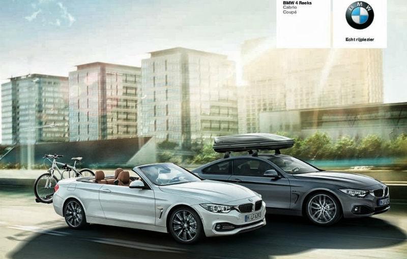 BMW Seria 4 Cabrio - primele imagini dezvăluie designul decapotabilei - Poza 1