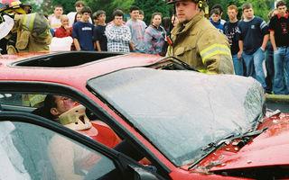 Statisticile dureroase ale siguranţei rutiere în România anului 2013