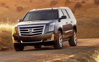 Cadillac Escalade - noua generaţie ajunge în Europa la sfârşitul lui 2014