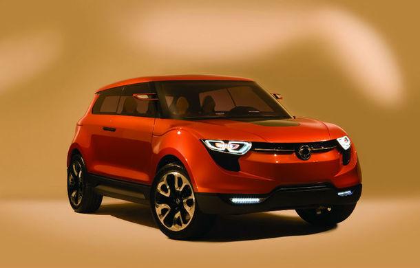 Ssangyong lansează la Geneva un viitor rival pentru Nissan Juke - Poza 1