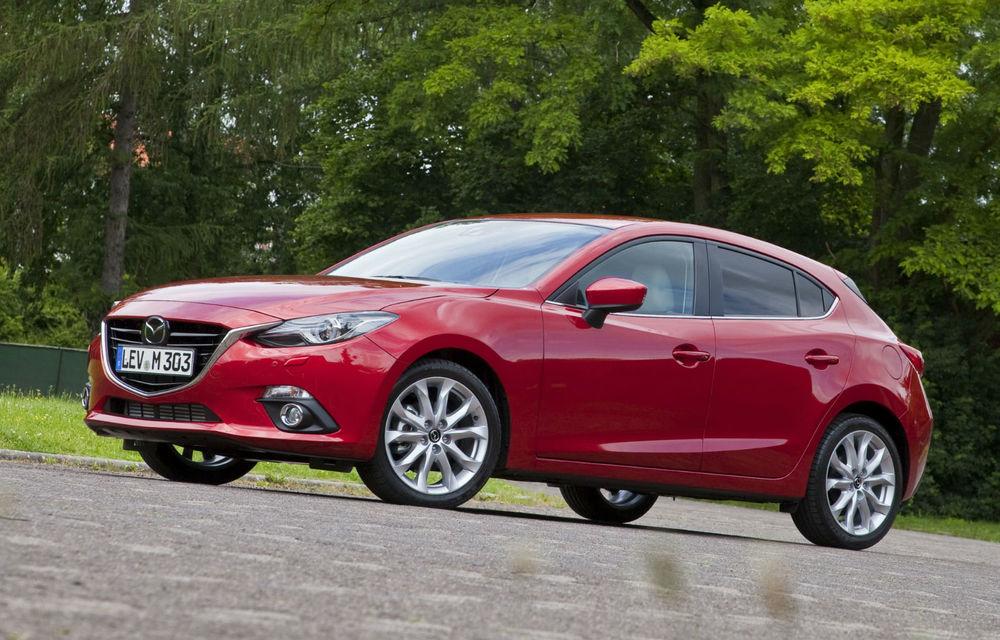 Obiectiv ambiţios pentru noul Mazda3: vânzări anuale de 500.000 de unităţi - Poza 1