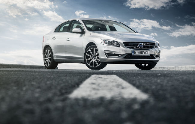 Test drive Volvo S60 facelift (2013-2018)