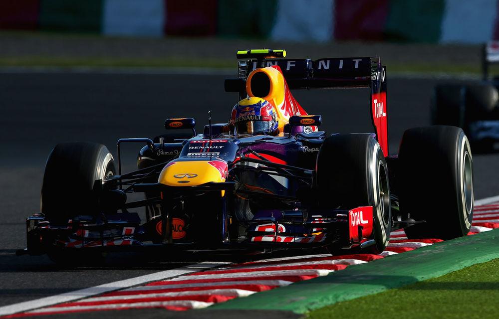 Webber a obţinut la Suzuka primul pole position din acest sezon - Poza 1