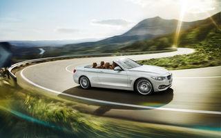 BMW Seria 4 Convertible - imagini și informații oficiale
