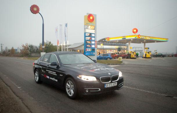 Record de consum: BMW 520d xDrive a traversat România dus-întors cu media de 4.0 litri/100 kilometri - Poza 7