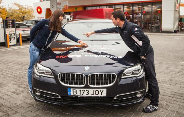 Record de consum: BMW 520d xDrive a traversat România dus-întors cu media de 4.0 litri/100 kilometri - Poza 3