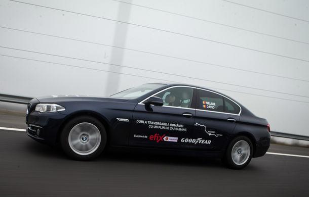 Record de consum: BMW 520d xDrive a traversat România dus-întors cu media de 4.0 litri/100 kilometri - Poza 1