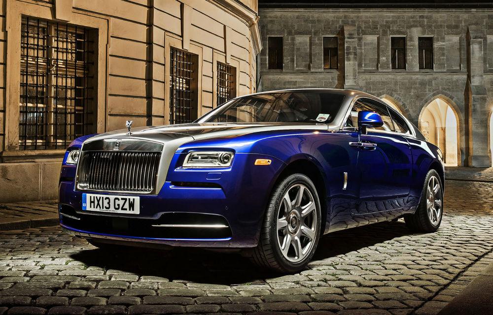 Rolls-Royce Wraith: lista de aşteptare merge până în mai 2014 - Poza 1