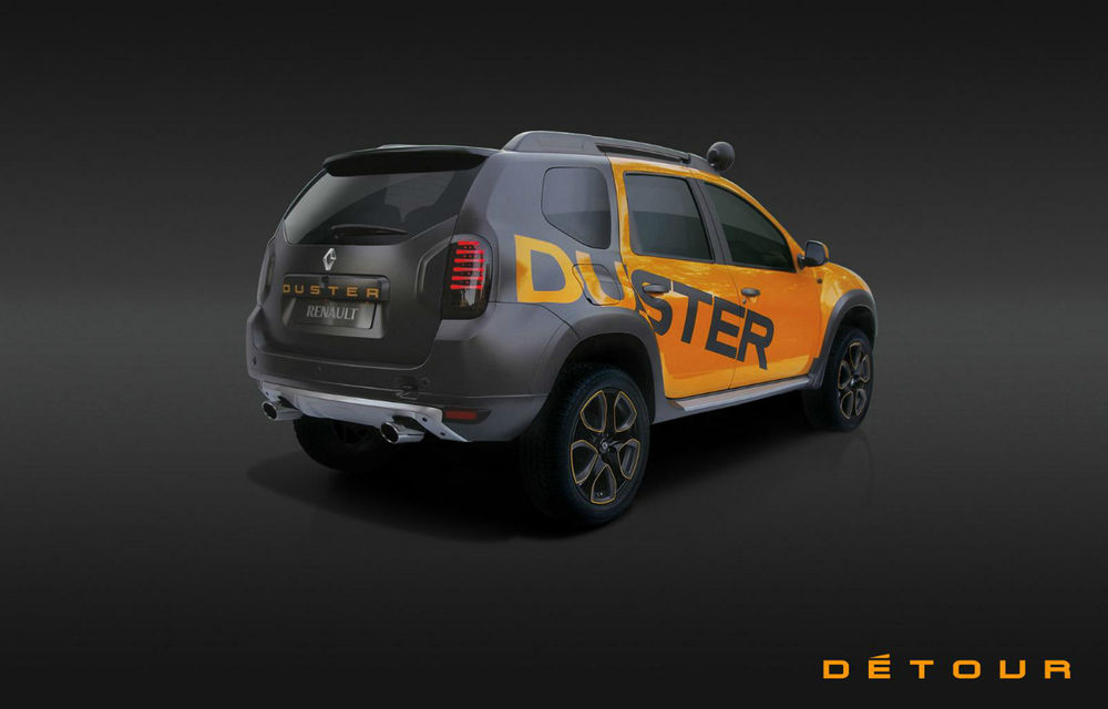 Duster Detour, conceptul care marchează debutul SUV-ului pe piaţa din Africa de Sud - Poza 7