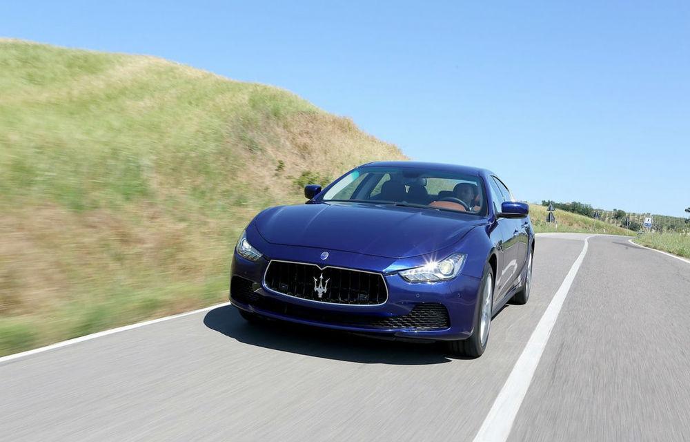 Maserati este pe val: a vândut de patru ori mai multe maşini decât în 2012 - Poza 1