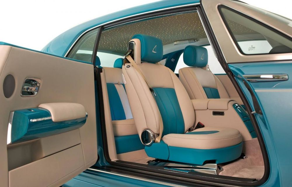 Rolls Royce Phantom Coupe Ghawwass - ediţie dedicată căutătorilor de perle - Poza 4