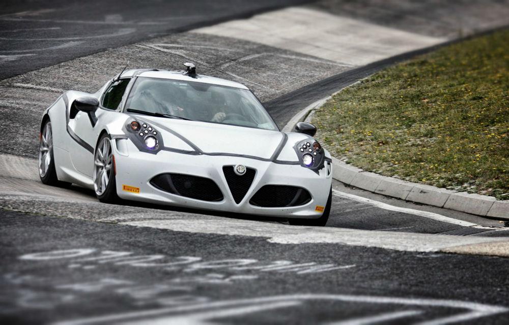 Alfa Romeo confirmă reuşita lui 4C de la Nurburgring - Poza 1