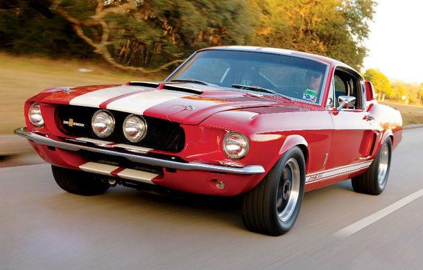 Cele mai populare culori folosite de Ford Mustang în cei 50 de ani de existenţă - Poza 1